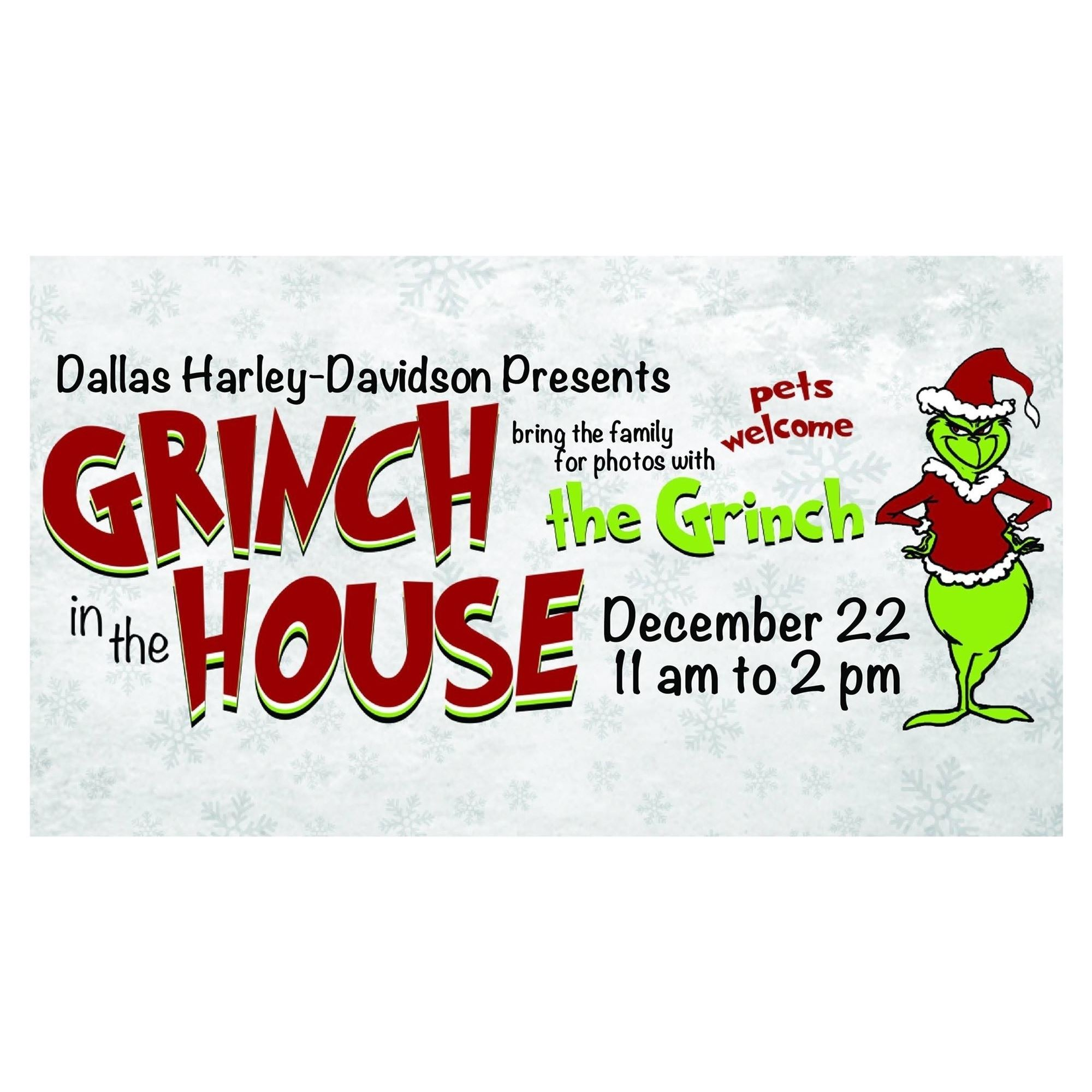 Dallas Harley Davidson >> Grinch In The House At Dallas Harley Davidson