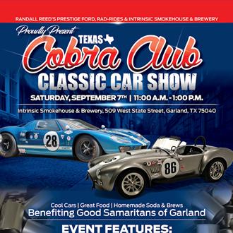 Texas Cobra Club Classic Car Club hosted by Prestige Ford