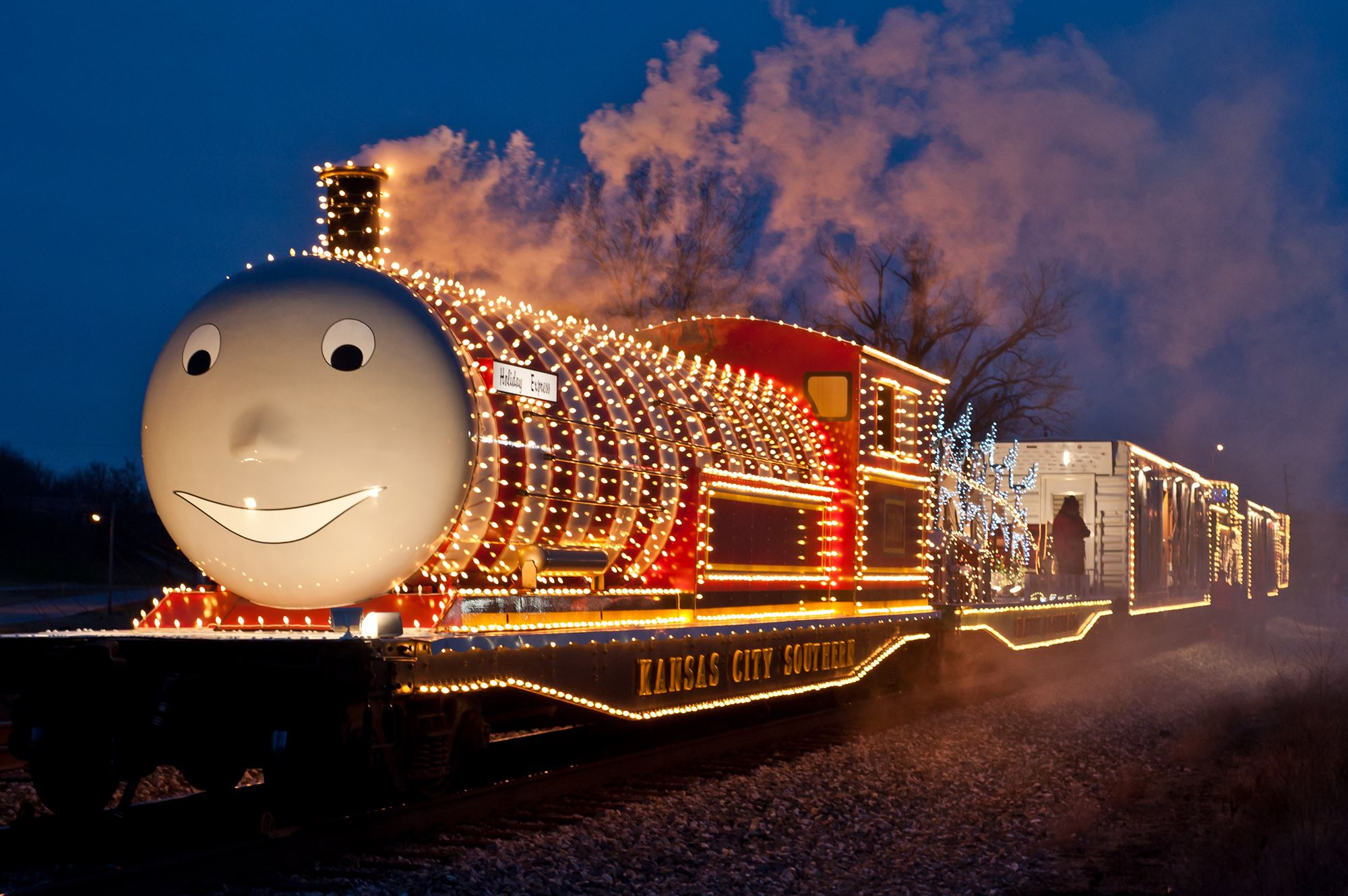 Kansas City Christmas Station 2020 Schedule Kansas City Southern Holiday Express