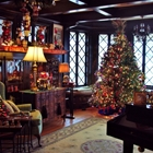 Historic Murphysburg Home decorated for Christmas