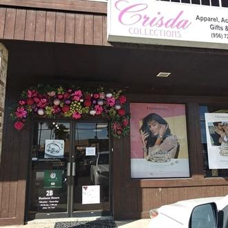 Front entrance Crisda collection