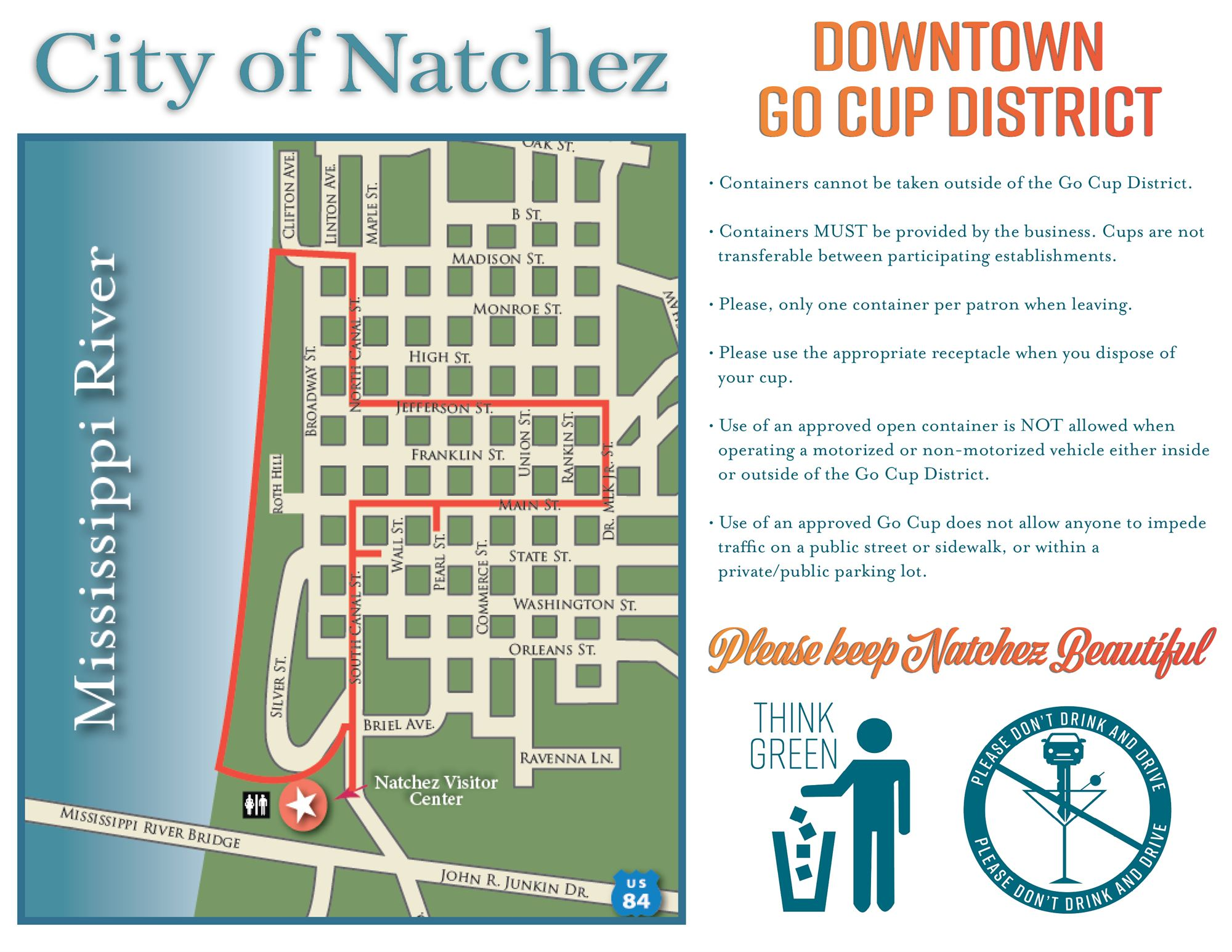 Natchez Go Cup District on map of downtown cleveland ms, map plantation natchez mississippi, map of downtown hattiesburg ms, map of la state line-ms, map of downtown jim thorpe, downtown vicksburg ms, map of downtown starkville ms, map of blue ridge parkway and skyline drive, map of downtown columbus ms, map of downtown jackson ms, map of downtown biloxi ms, old downtown tupelo ms, map of downtown san luis obispo, map of downtown oxford ms, map of downtown las vegas strip, map of natchez la, map of downtown summerlin, map of downtown tupelo ms, map of downtown cabo san lucas, map of natchez parkway,