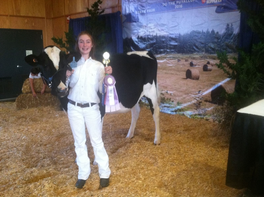 Montanna Heinricher Reserve Champion Holstein show