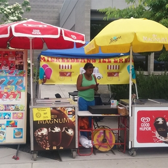 Mickeldeans ice cream