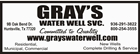 Gray's Water Well SVC.
