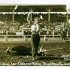 Lucile Mulhall 1914 Lady Champion Roper