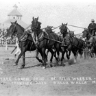 Stagecoach in Rodeo Arena 1913