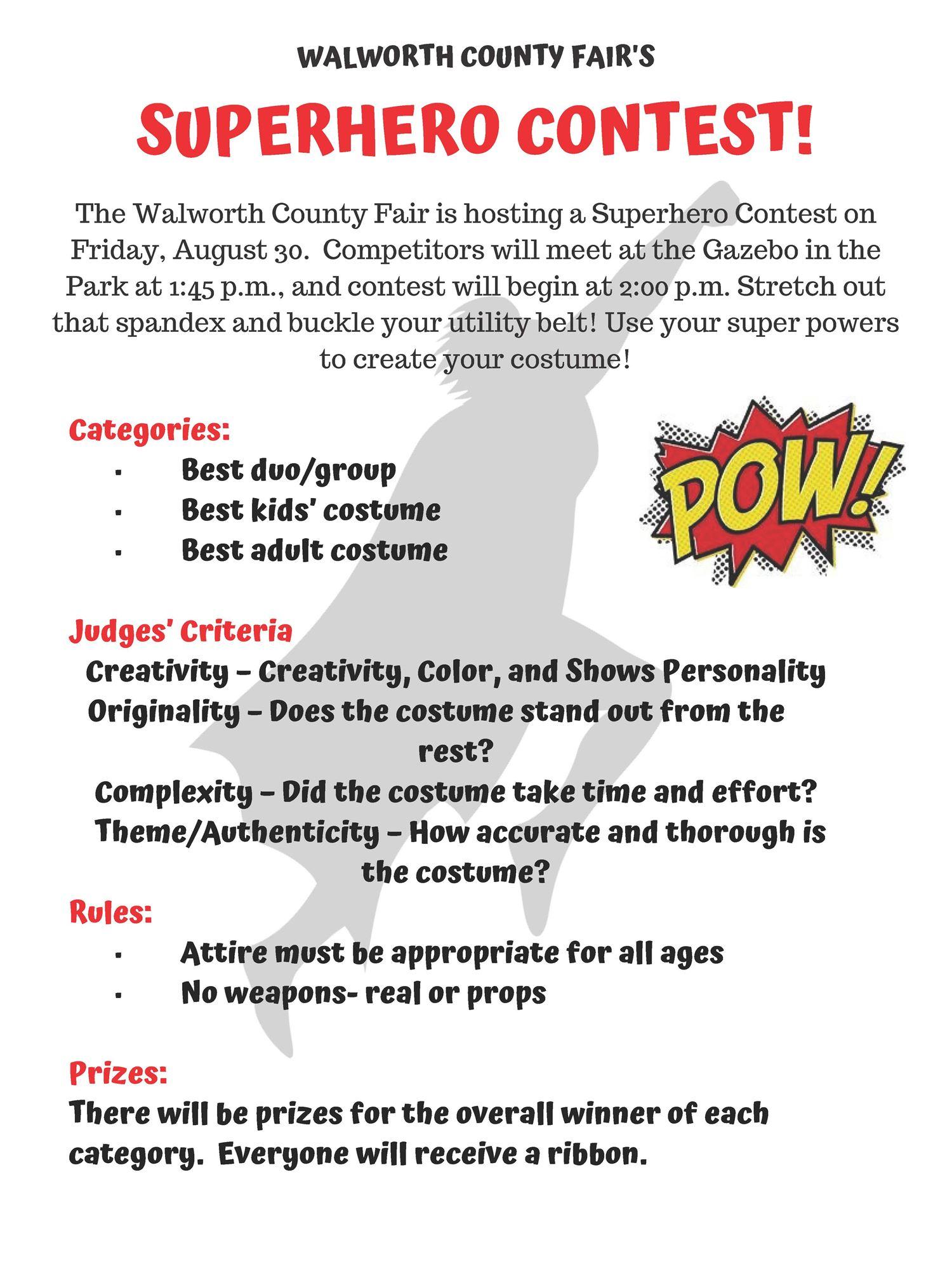 Fair Theme Contests