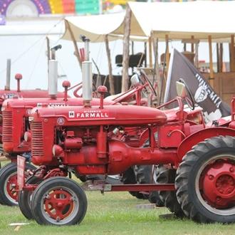 Antique Farm Machinery Exhibit