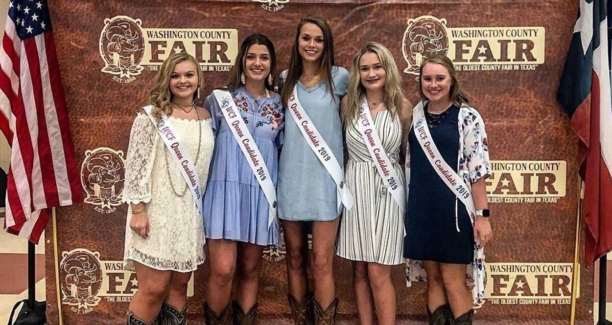 2019 Fair Queen Candidates