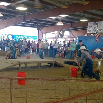 Youth Hay Hauling Contest