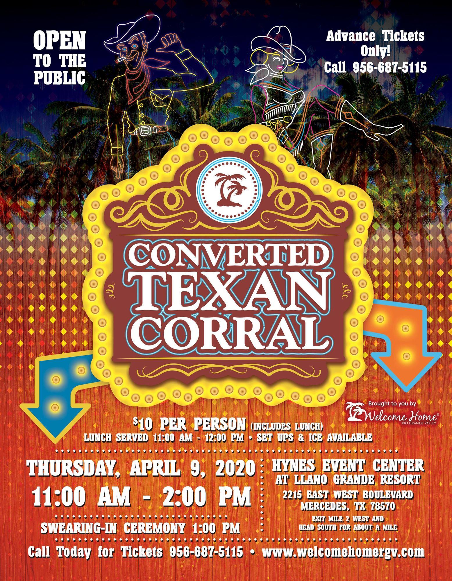 Converted Texan Corral