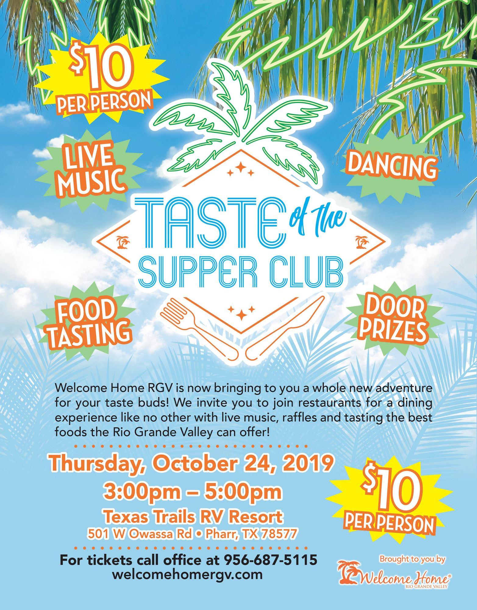 TASTE of Supper Club