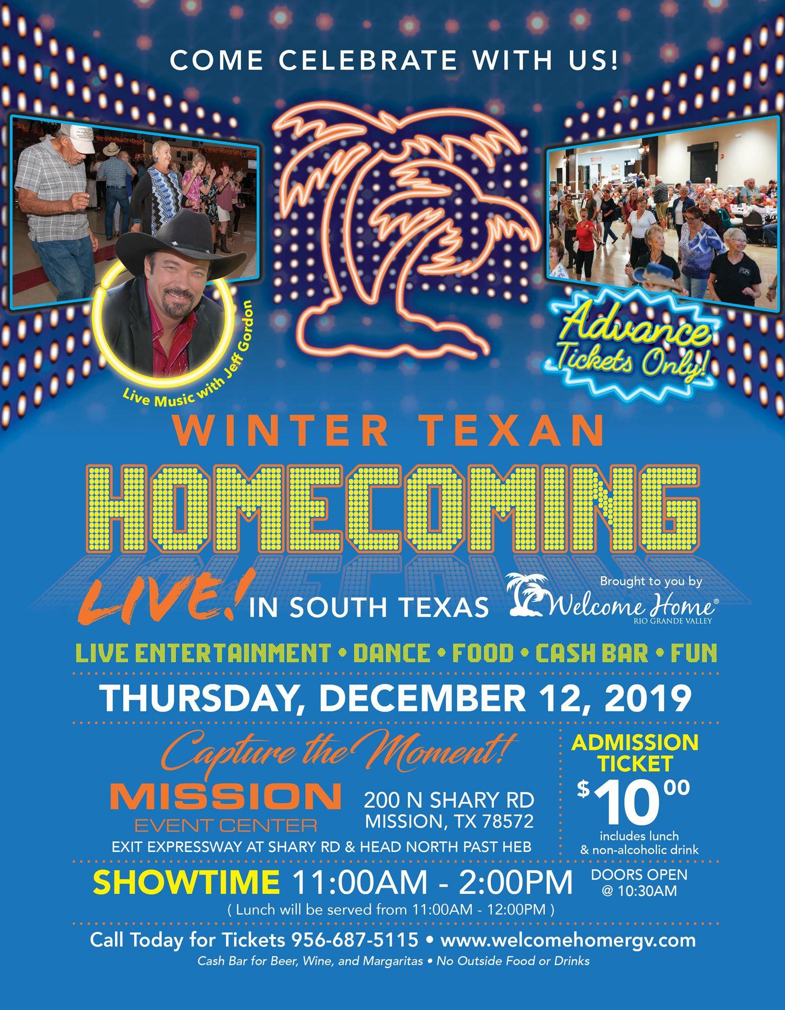Winter Texan Homecoming
