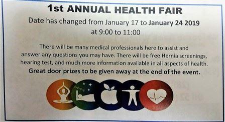 1st Annual Texas Trails Health Fair
