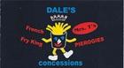 Dale's Concessions