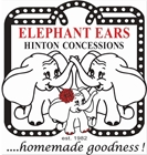 Elephant Ears - Hinton Concessions