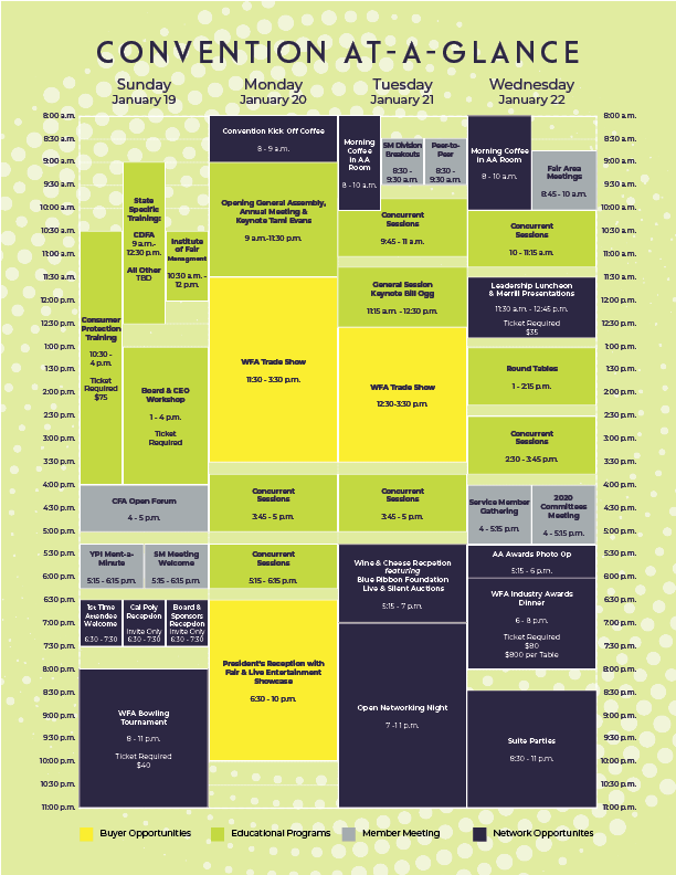 Convention At-A-Glance