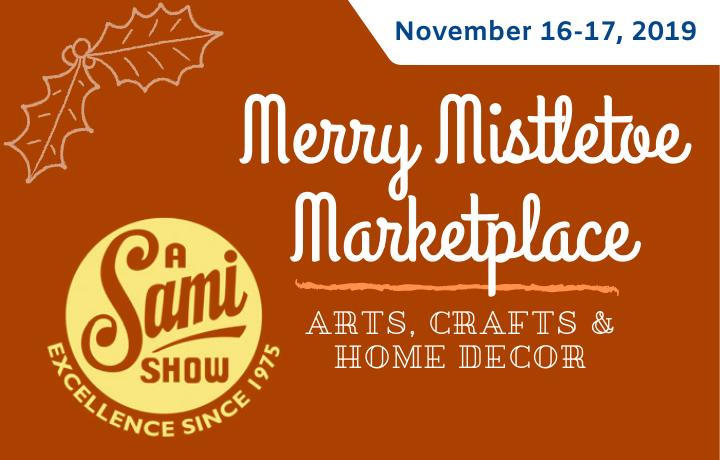 Merry Mistletoe Marketplace flyer
