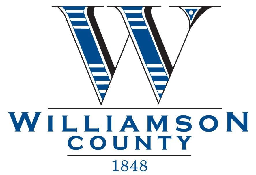 Williamson County Logo with large W and Williamson County text under the W