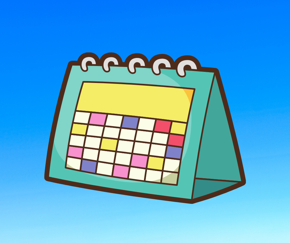 Calendar with link to daily schedules