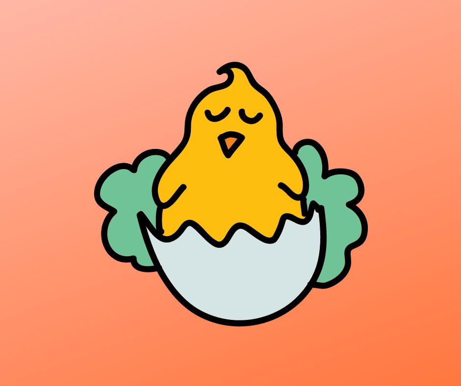 Hatching chicken link to chick hatchery