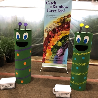 Hungry caterpillar game located in the 4-H & Youth Village
