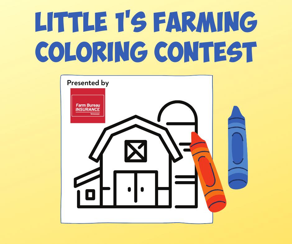 Little 1's Farming Coloring Contest link