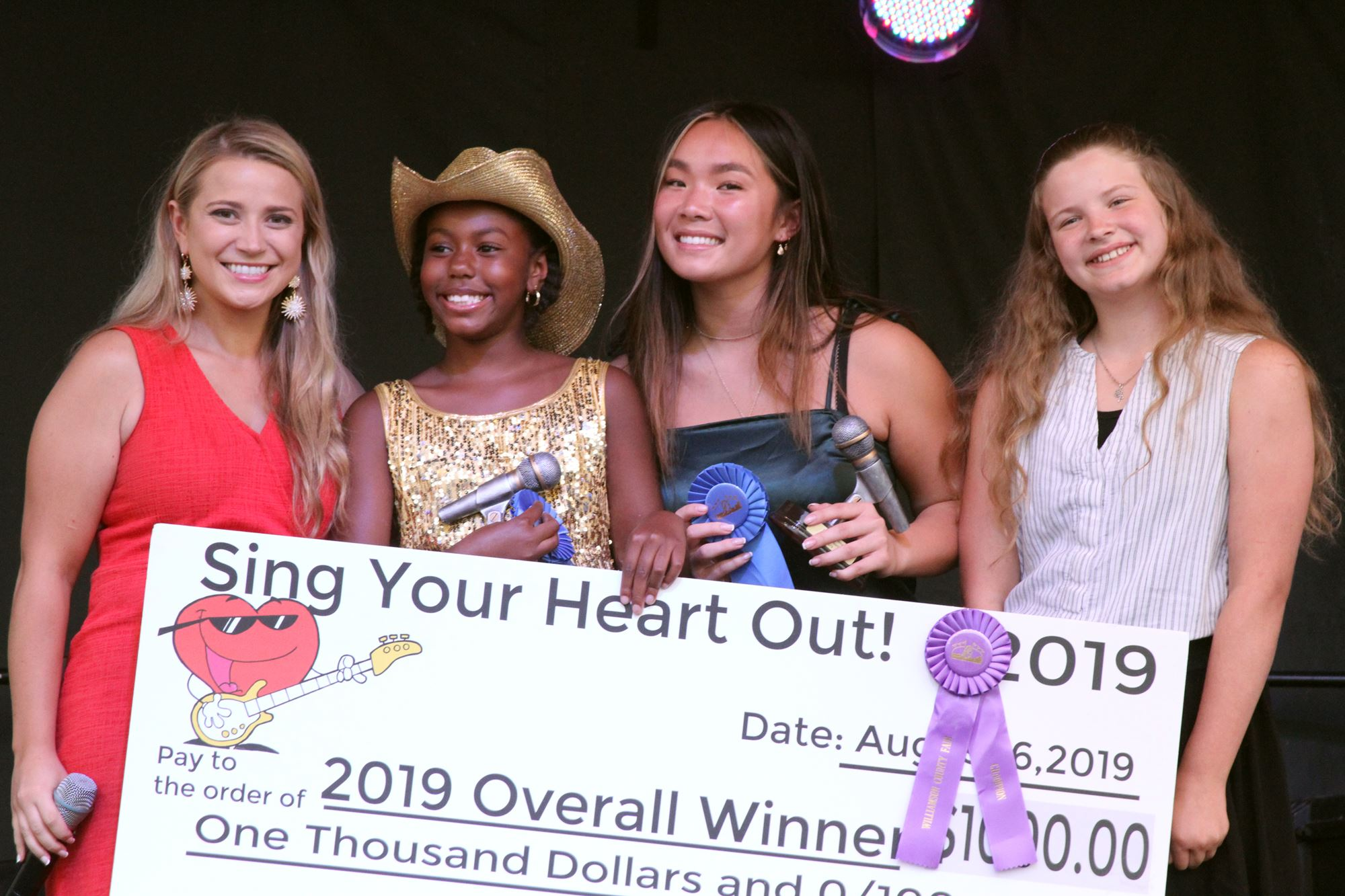 2019 vocal competition winners