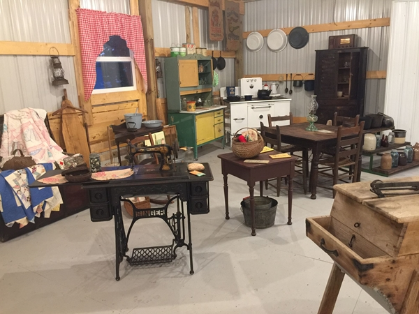 New Exhibits in Heritage Barn