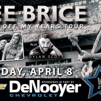 Great New Seats Released for Tonight's Lee Brice Show
