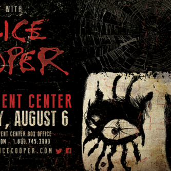 Rock Legend Alice Cooper Comes to Wings Event Center in August