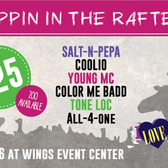 Rappin' in the Rafters: Wings Event Center selling $25 tickets for I Love The 90s show