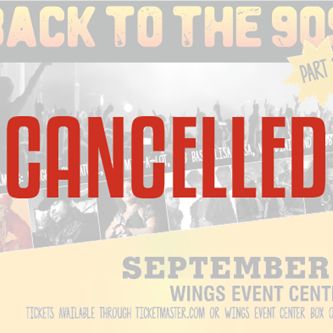 Show CANCELLATION: Back to the 90's