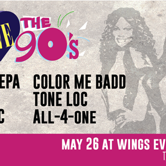 "Get ""I Love the 90s"" Tickets at the Door"