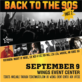 Show Announcement: Back to the 90s