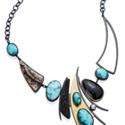 Blue Moon Fiesta Necklace