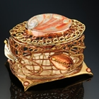 copper, brass, and nickel wire jewelry box