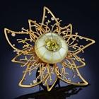 18k Sphene and Diamonds ring