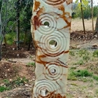 Hand Carved Arizona Onyx water sculpture