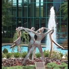 Family dancing sculpture