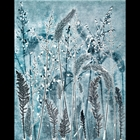 Botanical Monotypes are all one-off created with freshly gathered plants, oil based etching inks