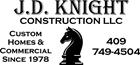 J.D. Knight Construction - Steer Wrestling Sponsor