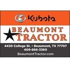 Beaumont Tractor Co. - Tie Down Roping Sponsor
