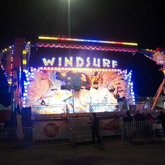 Carnival Midway Rides