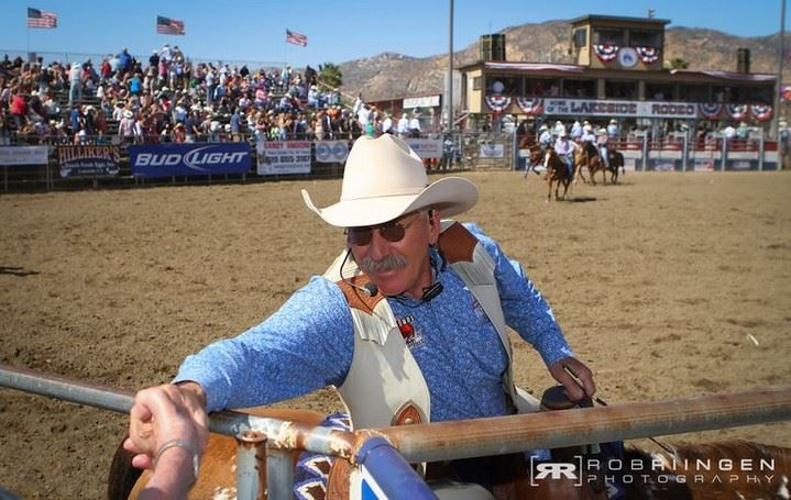 Don Jesser, PRCA Rodeo Announcer
