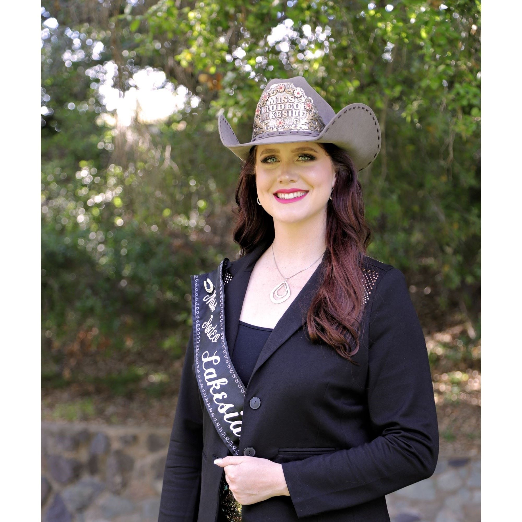 MIss Rodeo Lakeside 2019, Renee Winter