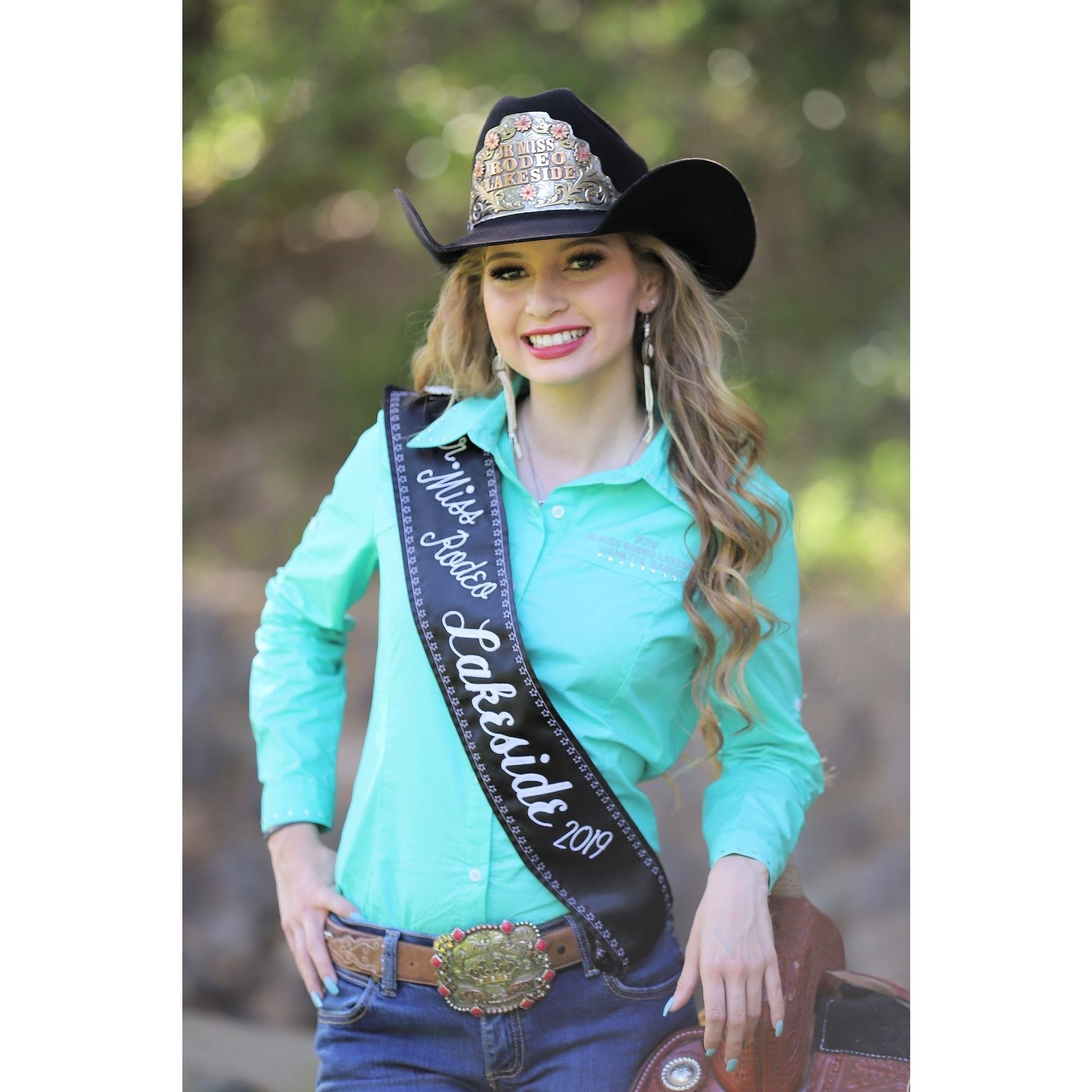 Jr Miss Rodeo Lakeside 2019 Vianette Garcia