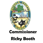 Commissioner Ricky Booth